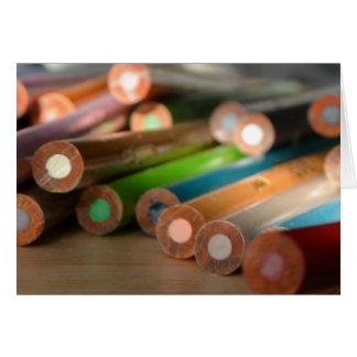 Carte créative de couleurs