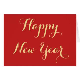 Carte Créez la salutation de bonne année personnalisée