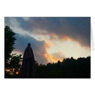 Carte Crépuscule de Berkshires