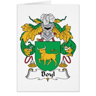 Carte Crête de famille de Boyl