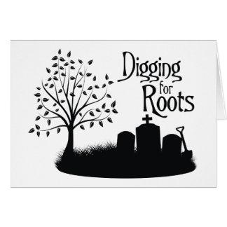 Carte Creusement pour des racines