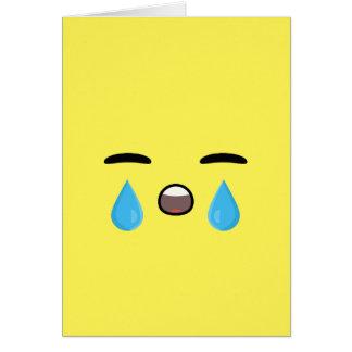 Carte Cri Emoji