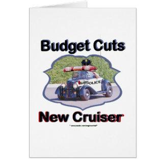 Carte Croiseur de compressions budgétaires nouveau