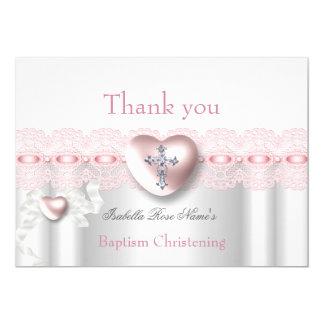 Carte Croix de coeur de photo d'argent de rose de