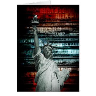 Carte Croyez à la liberté