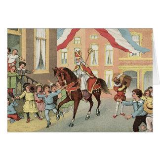 Carte Cru néerlandais Saint-Nicolas de St Nick de