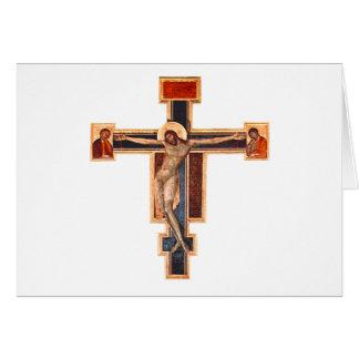Carte Crucifix italien