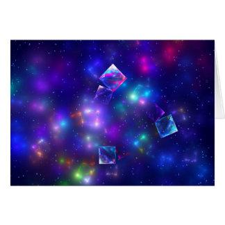 Carte Cubes cosmiques