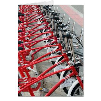 Carte Cycle Barcelone de recyclage allante à vélo