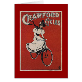 Carte Cycles de Crawford - bicyclette