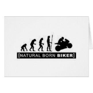 Carte Cycliste de naissance