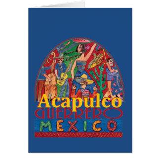 Carte d'ACAPULCO Mexique