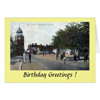 Carte d'anniversaire - Burnham-sur-Se tapissent,