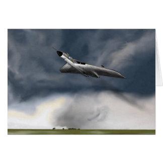 Carte d'anniversaire d'Avro Vulcan