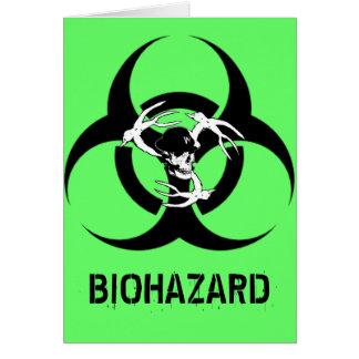 Carte d'anniversaire de Rockin de Biohazard