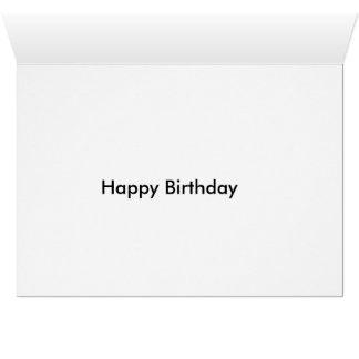 Carte d'anniversaire mignonne de chiot de carlin