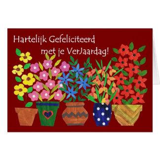 chanson anniversaire hollandais