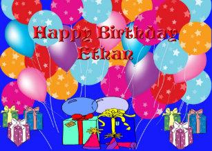 Cadeaux Anniversaire Ethan Zazzle Be