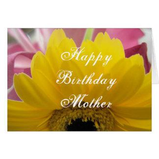 Carte d'anniversaire pour la mère
