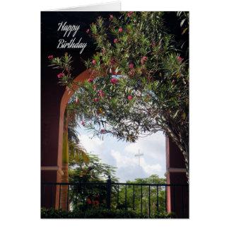 Carte d'anniversaire pour le curé