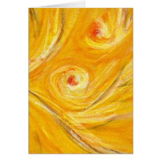 Carte Danse d'automne - Herbstwirbel