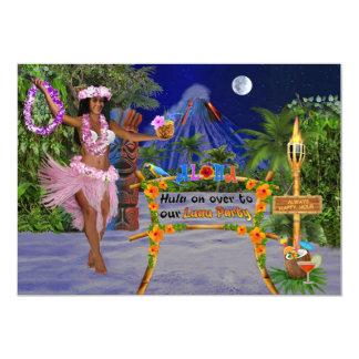 Carte Danse polynésienne dessus plus d'à notre partie de