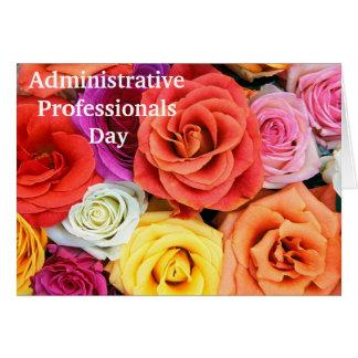 Carte d'appréciation pour les professionnels