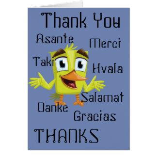 Carte de beaucoup de mercis