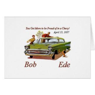 Carte de Bob Ede Brithday