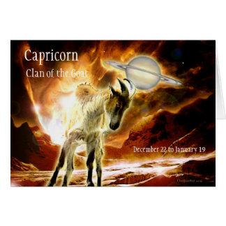 Carte de Capricorne,