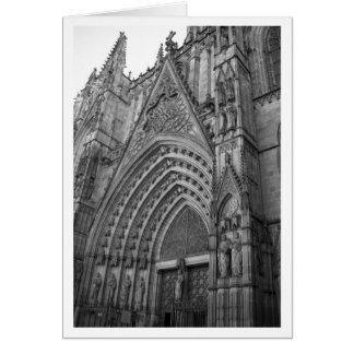Carte de Catedral de La (Barcelone, Espagne)