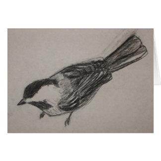 Carte de Chickadee