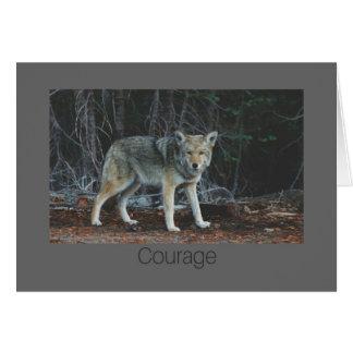 Carte de courage