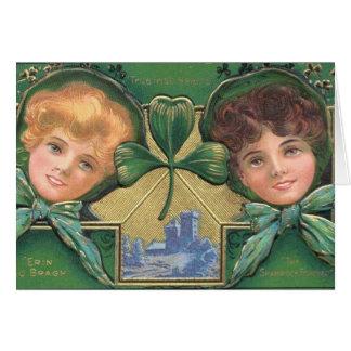 carte de cru de Jour de la Saint Patrick