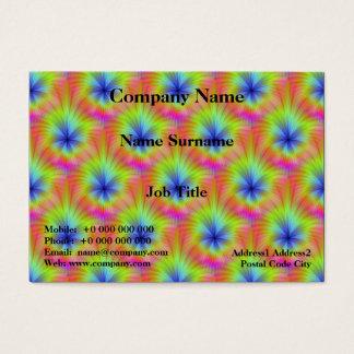 Carte de culture de couleur carte de visite grand format