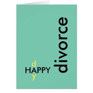 Carte de divorce