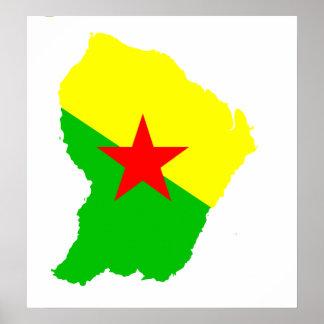 guyane francaise drapeau