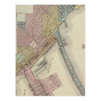 Carte de Duluth, le comté de St. Louis, Minnesota