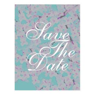 Carte de faire-part de mariage de fleurs de