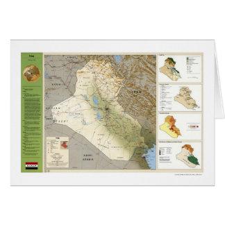 Carte de faits de l'Irak - 1994