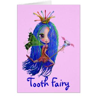 Carte de fée de dent