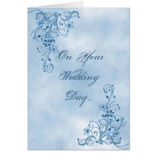Carte de félicitations de mariage : Élégance de