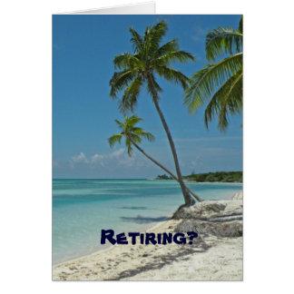 Carte de félicitations de retraite
