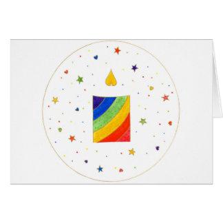 carte de fête d'anniversaire des enfants