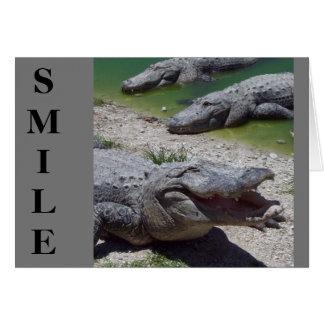 Carte de fête des pères de sourire