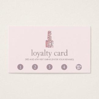 Carte de fidélité de client de poinçon du salon 5
