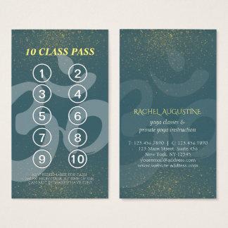 Carte de fidélité de passage de classe