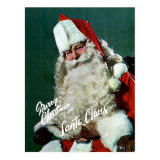 Carte de Géant-Courrier - Joyeux Noël de Père Noël
