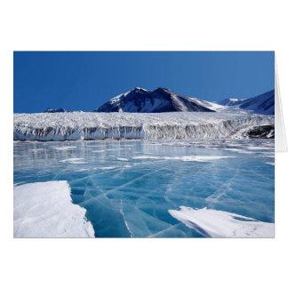 Carte de glacier d'Antartica