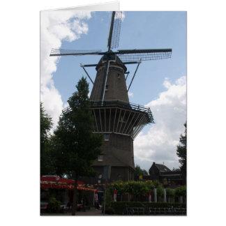 Carte De Gooyer Windmill Amsterdam